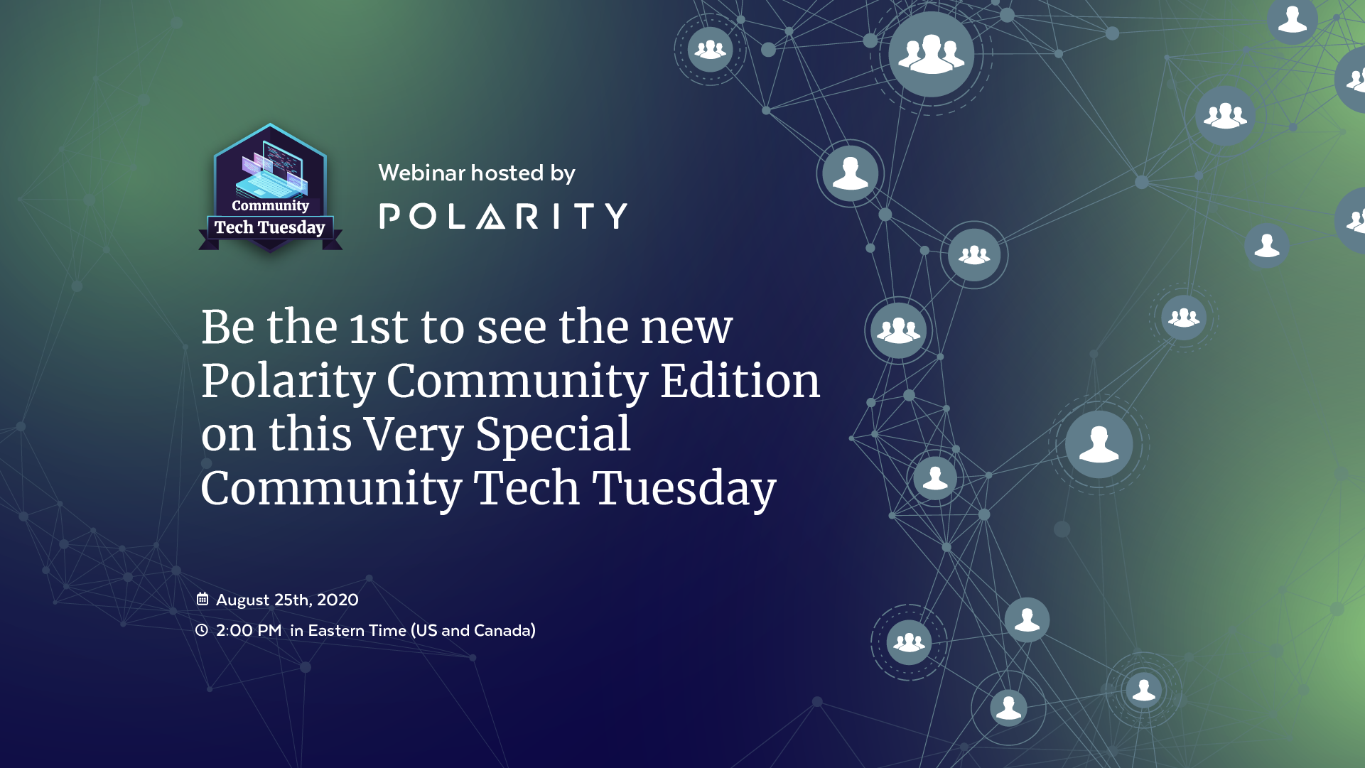 Community Edition Webinar Cover
