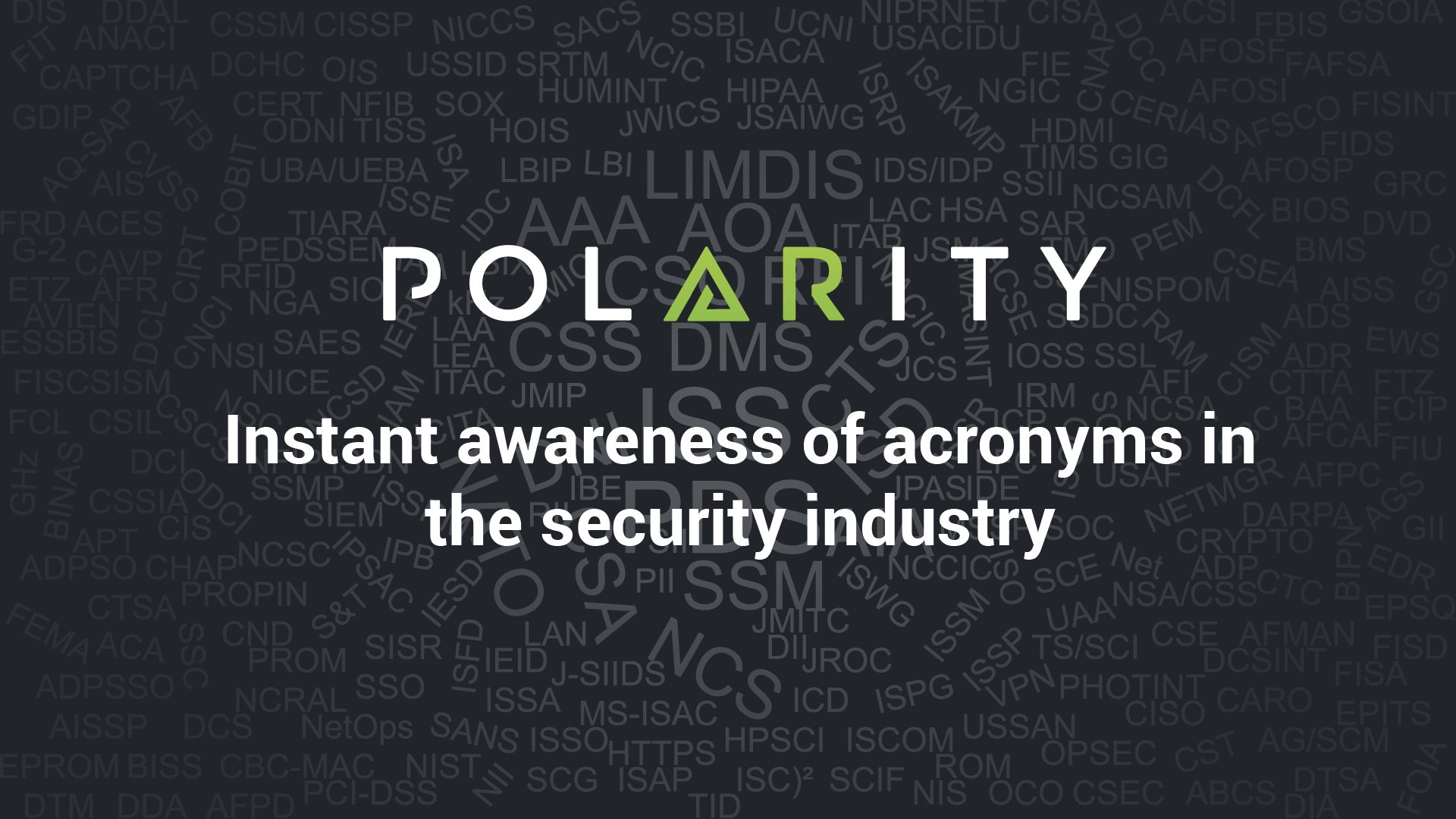 Security acronym guide Blog cover image